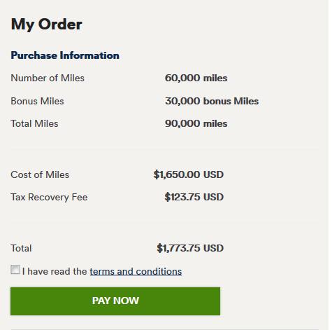 Alaska Miles with 50% bonus
