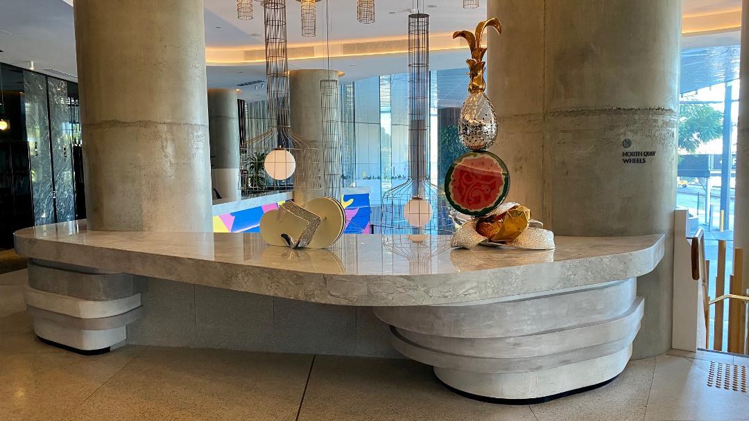 Lobby Art work, W Brisbane
