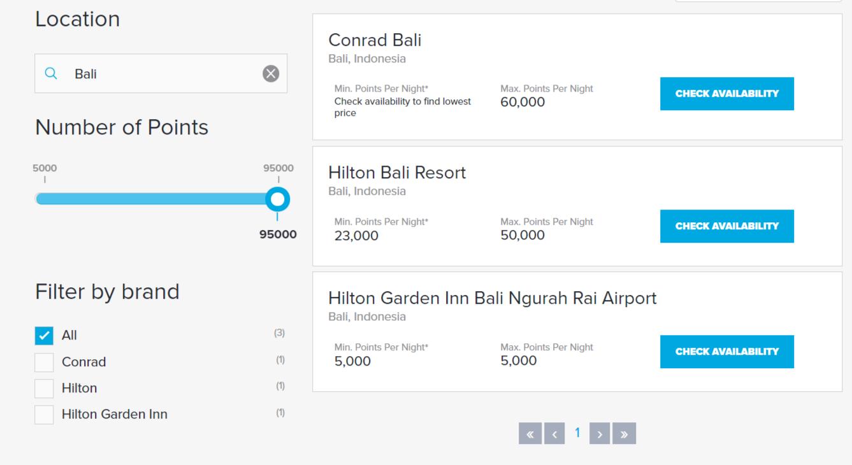 Hilton Hotels in Bali