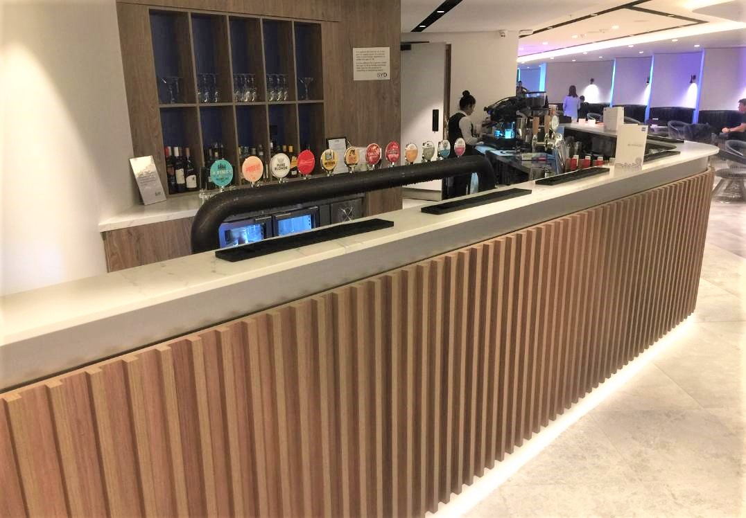 Tap Beer, Amex Lounge, Sydney T1