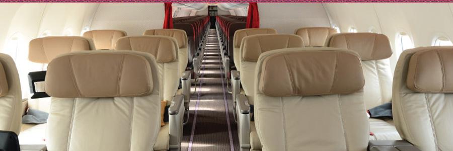 Batik Air Business Class Seat