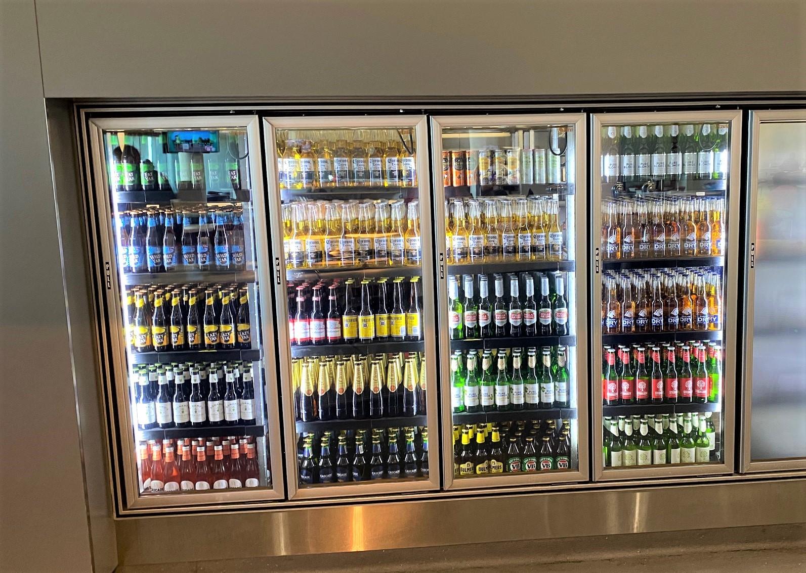 Alcoholic Drinks, Virgin Australia Lounge - Perth Airport