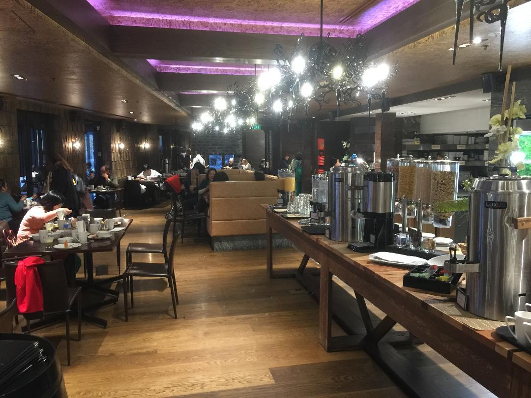 Hilton Queenstown Buffet Breakfast