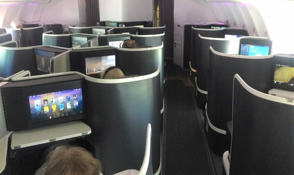 Virgin Australia A-330, Business Class Cabin