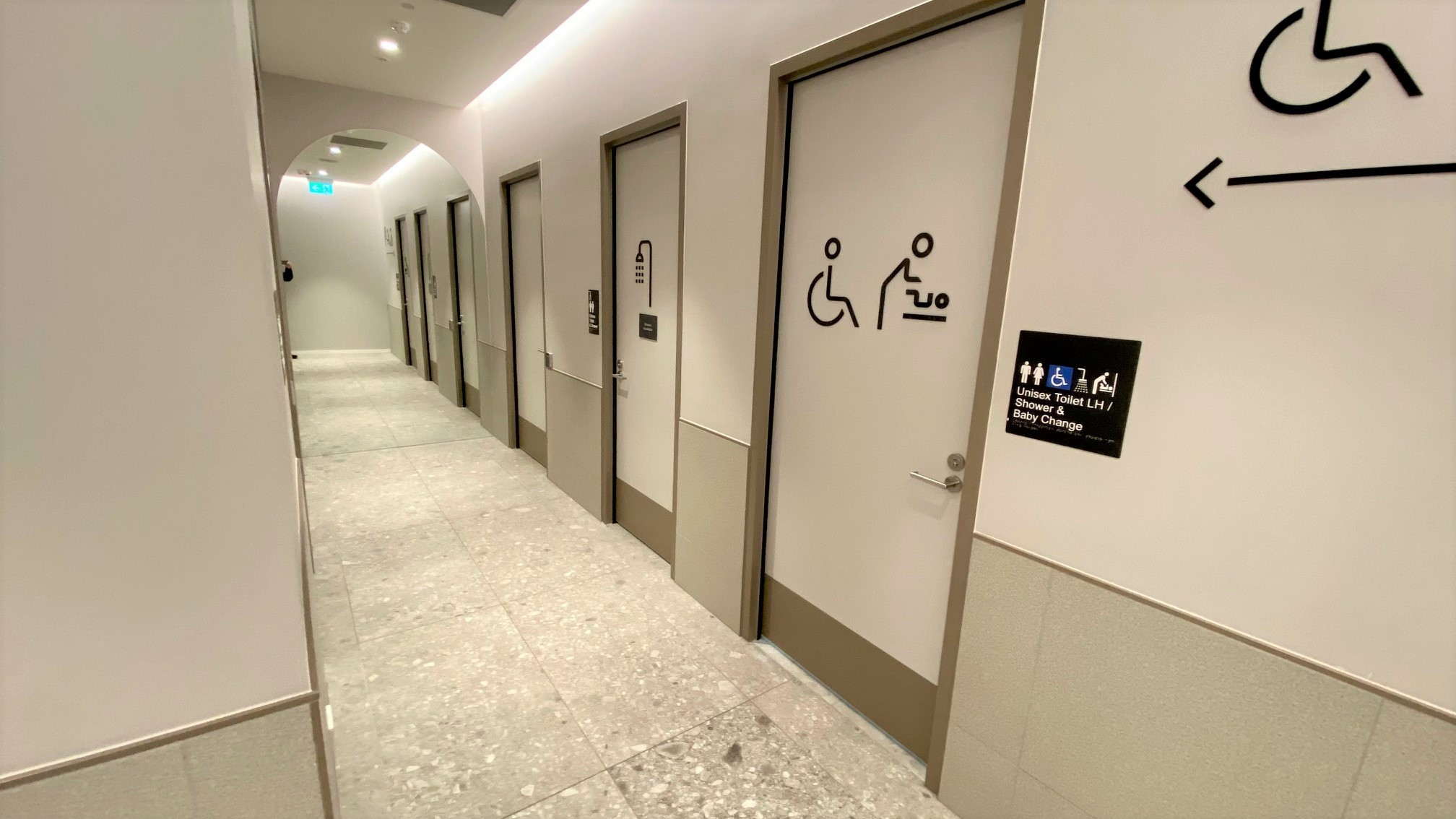 Parents Room and Ambulant Toilet, Virgin Australia Lounge - Adelaide Airport