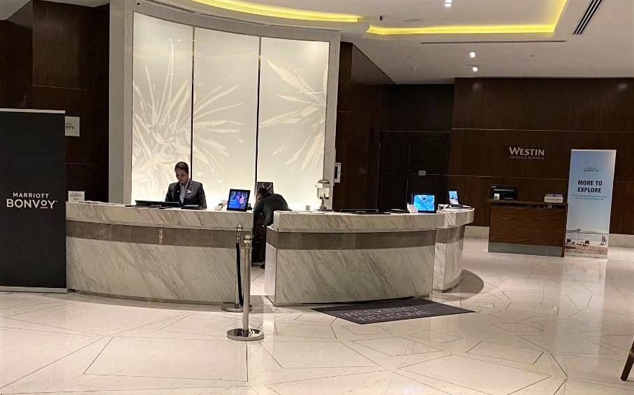 Reception, The Westin Singapore