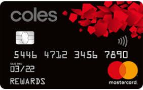 Coles Platinum Rewards Mastercard