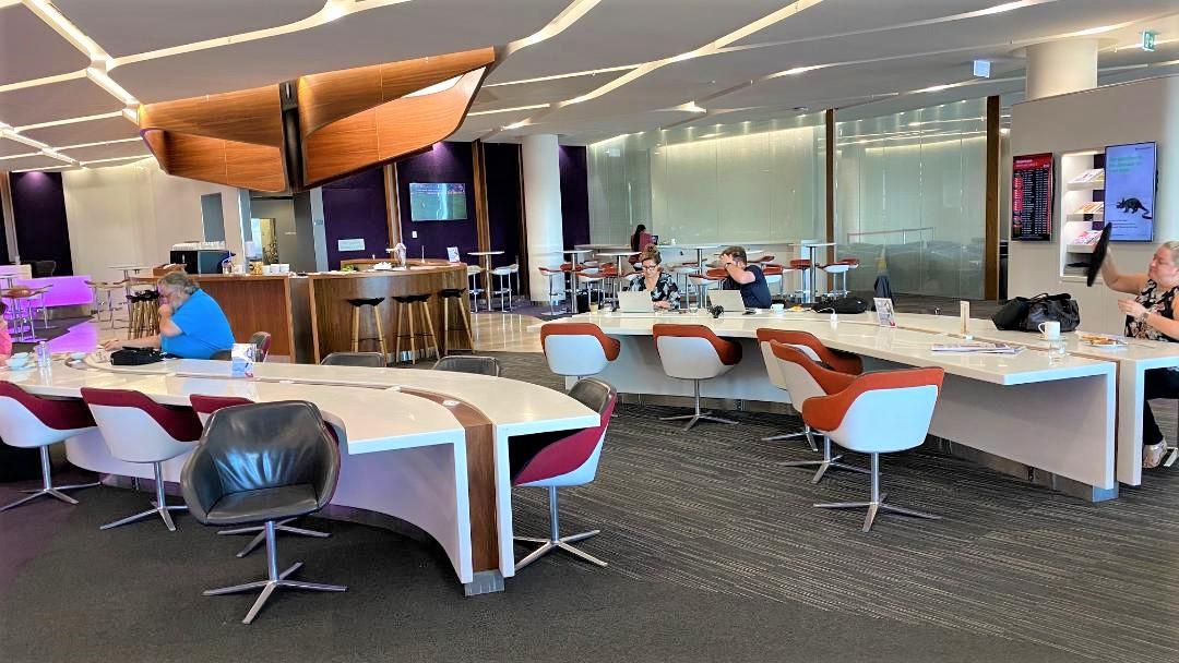Communal Tables, Virgin Australia Lounge - Perth Airport