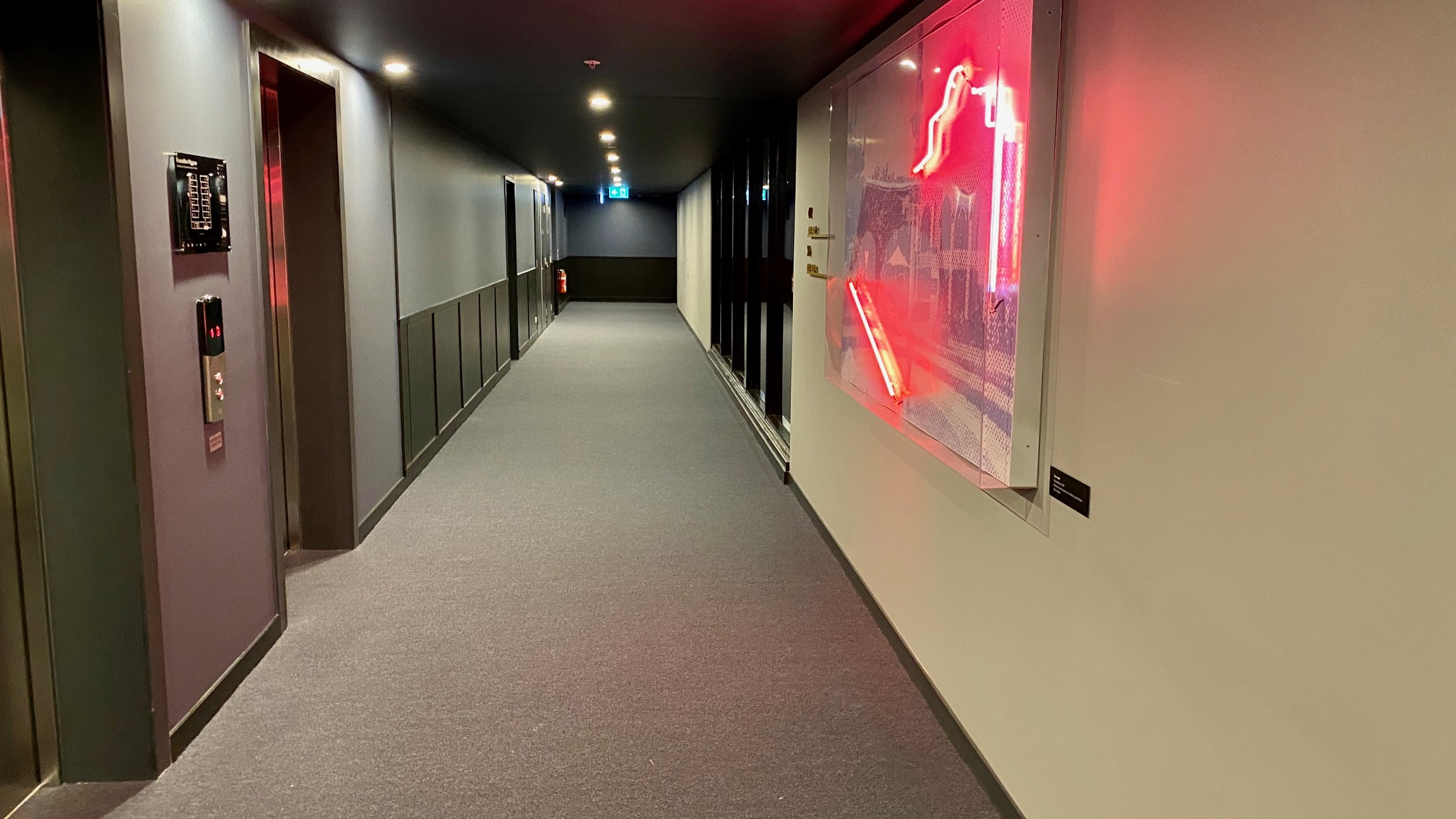 Corridor, Midnight Hotel Canberra
