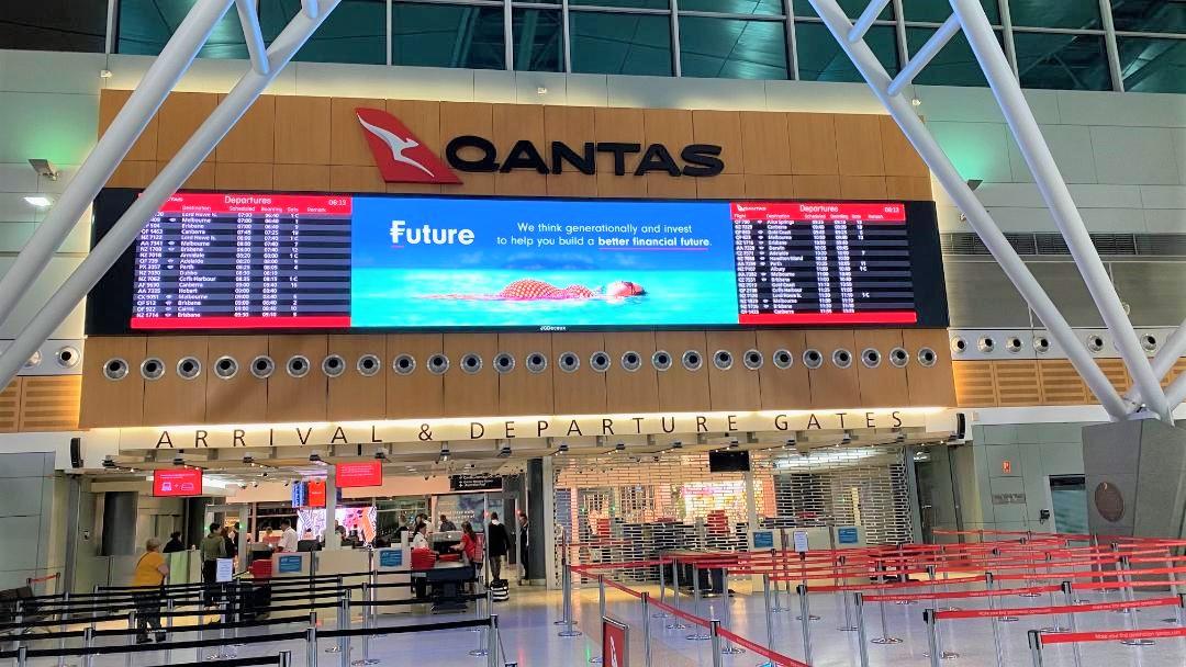 Departure Gates, Sydney Terminal 3