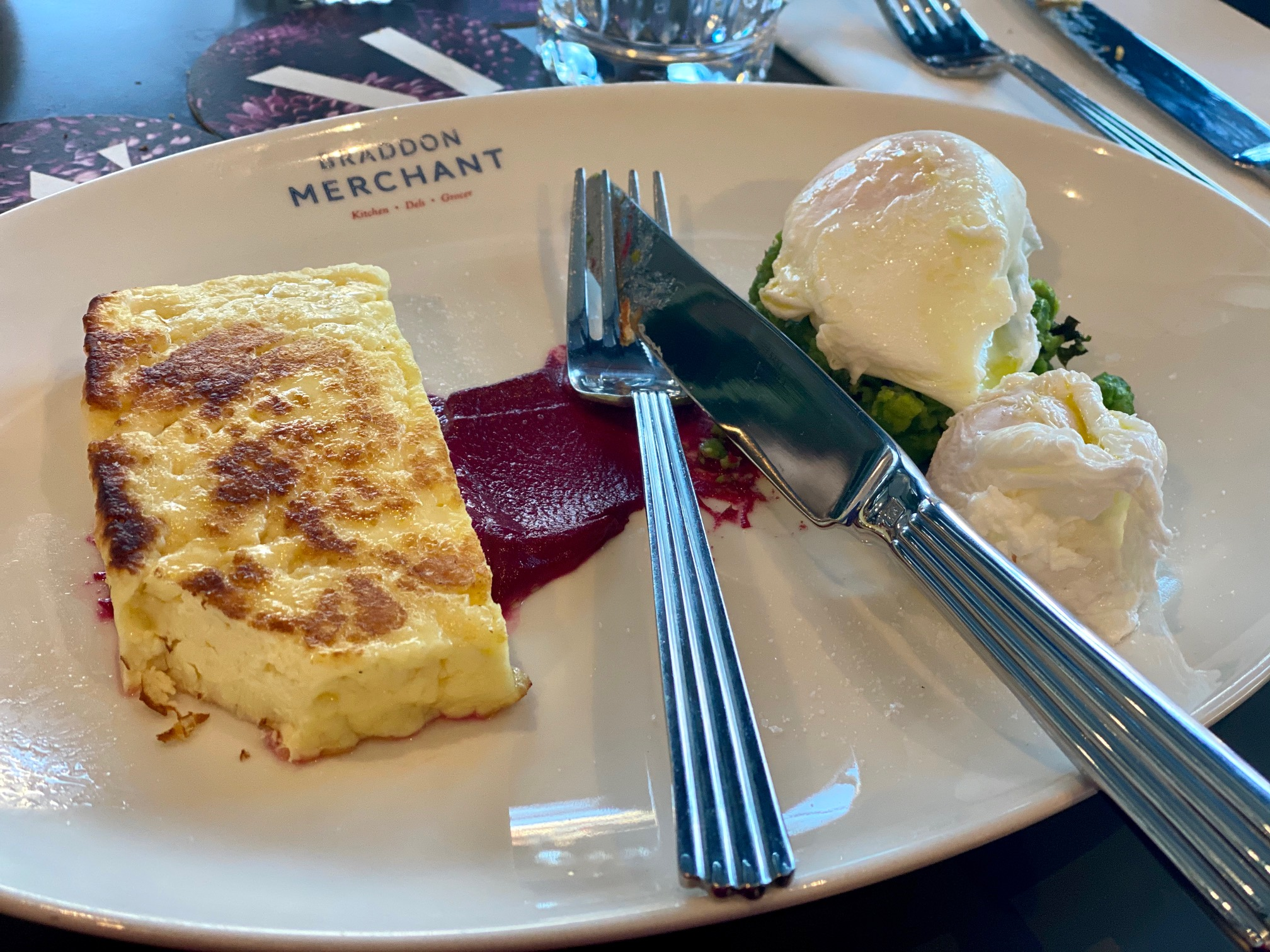 Breakfast at Braddon Merchant, Midnight Hotel Canberra