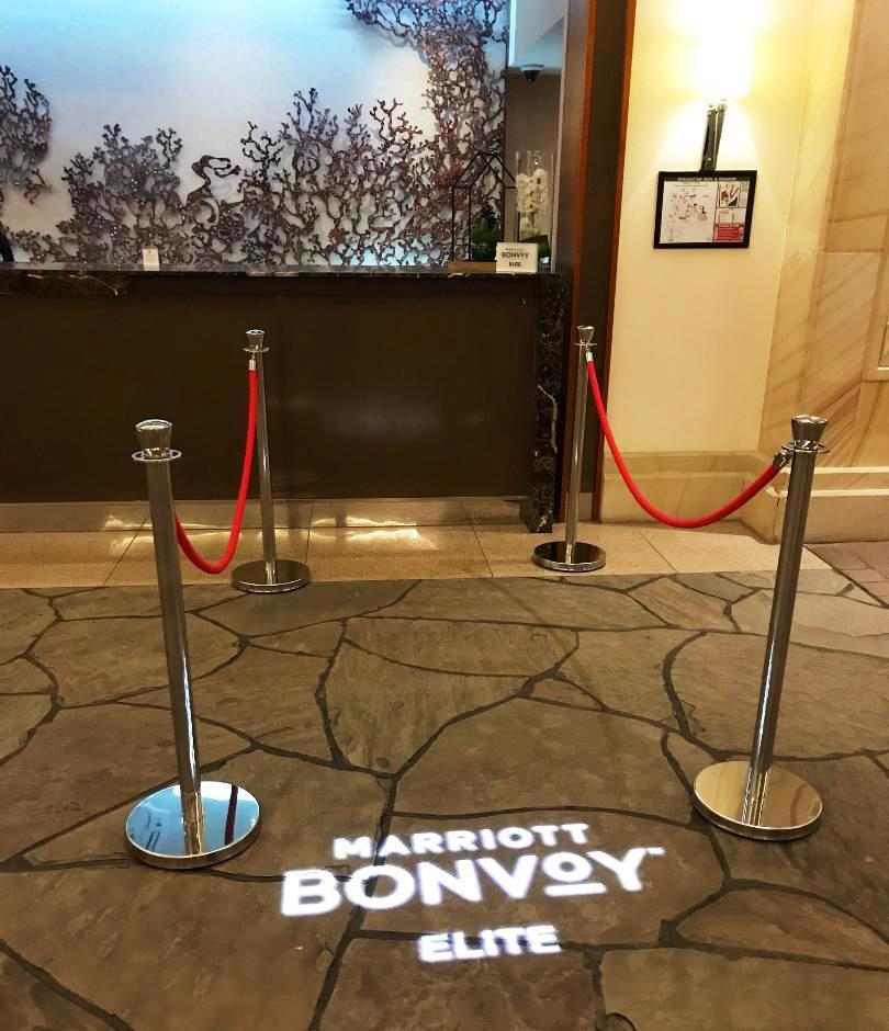 Marriott Bonvy Elite Check in Queue