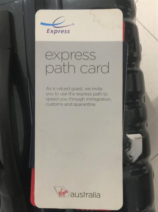 Express Path Card, Sydney Airport