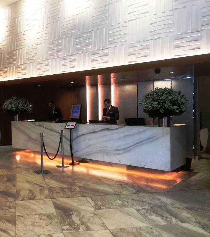 Sydney Harbour Marriott - Front Desk