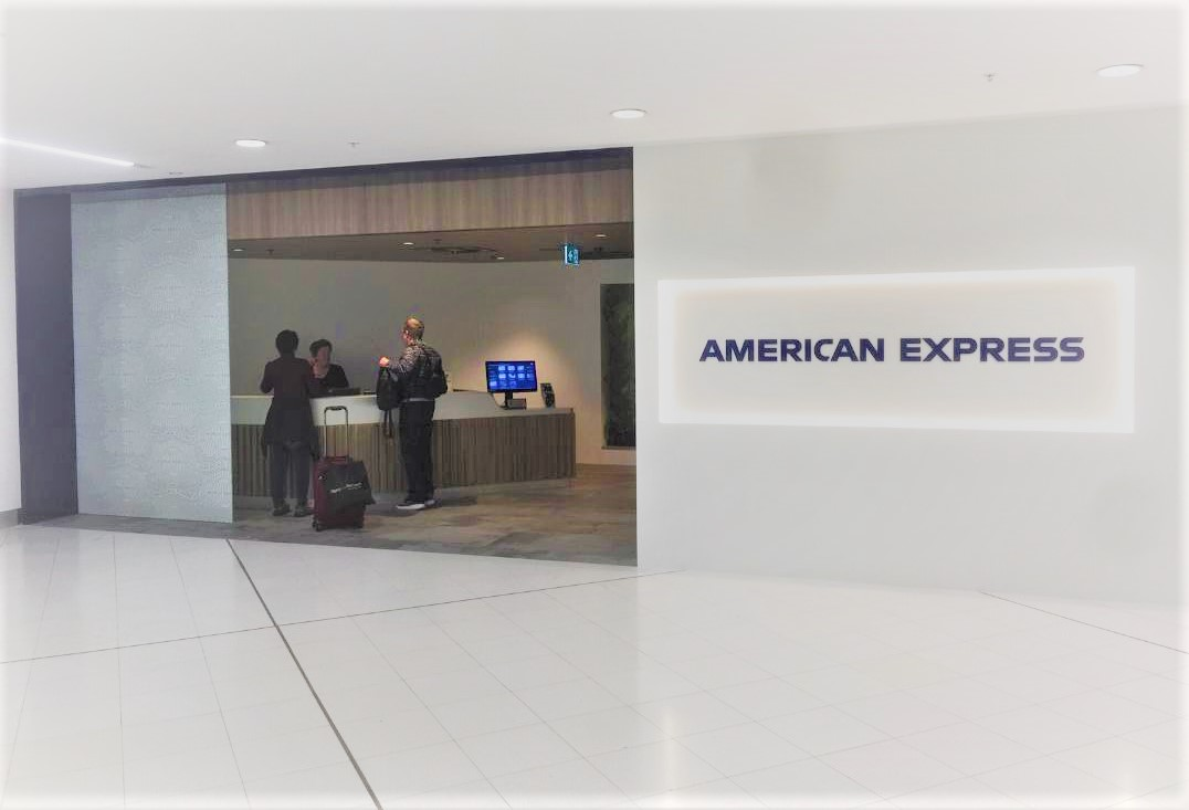 American Express Lounge at Sydney International Airport