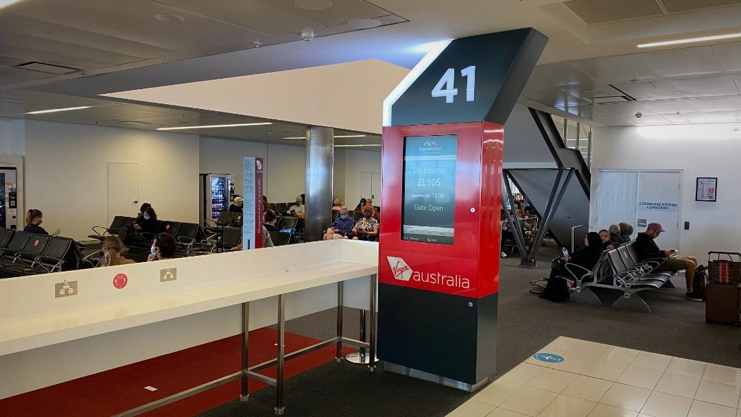Gate 41, Sydney Airport T2