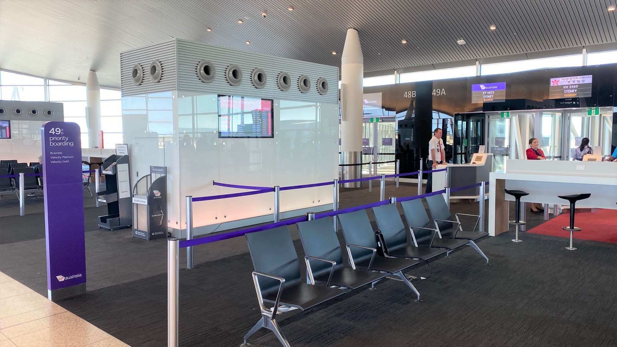Gate 49, T1 - Perth Airport