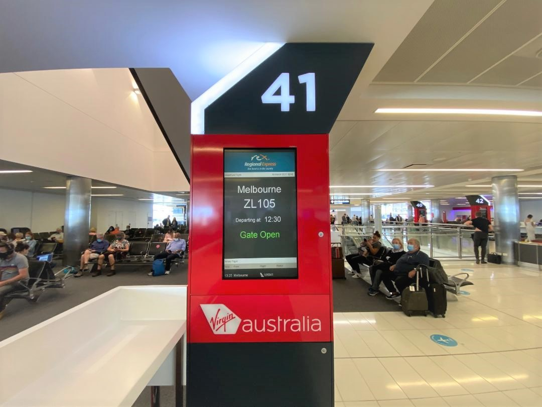 Gate 41, Terminal 2 - Sydney Airport
