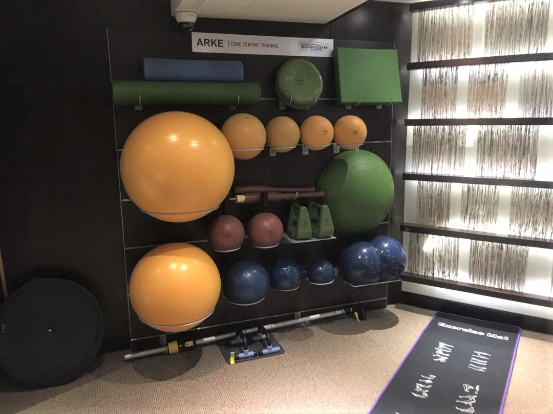 Gym, Conrad Hong Kong