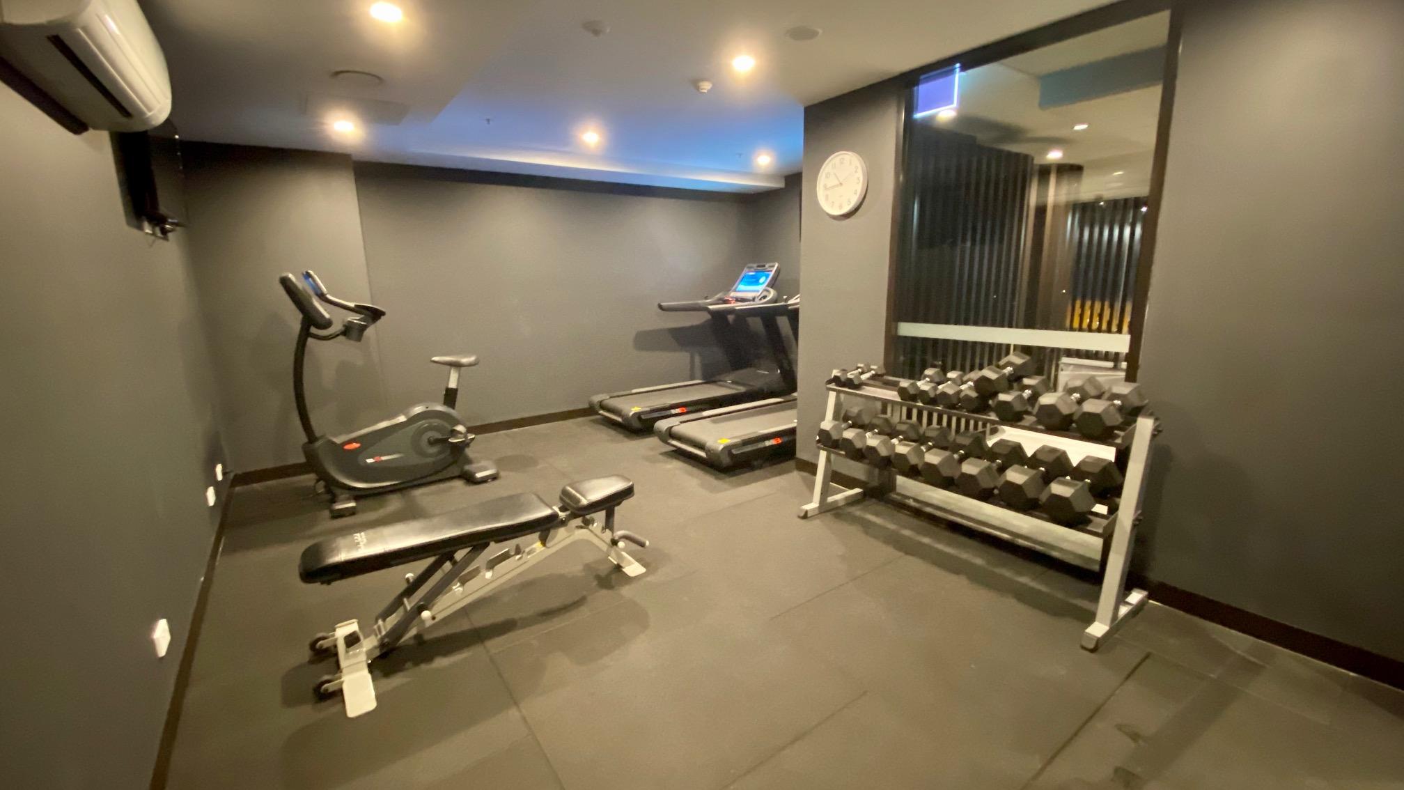 Gym, Midnight Hotel Canberra