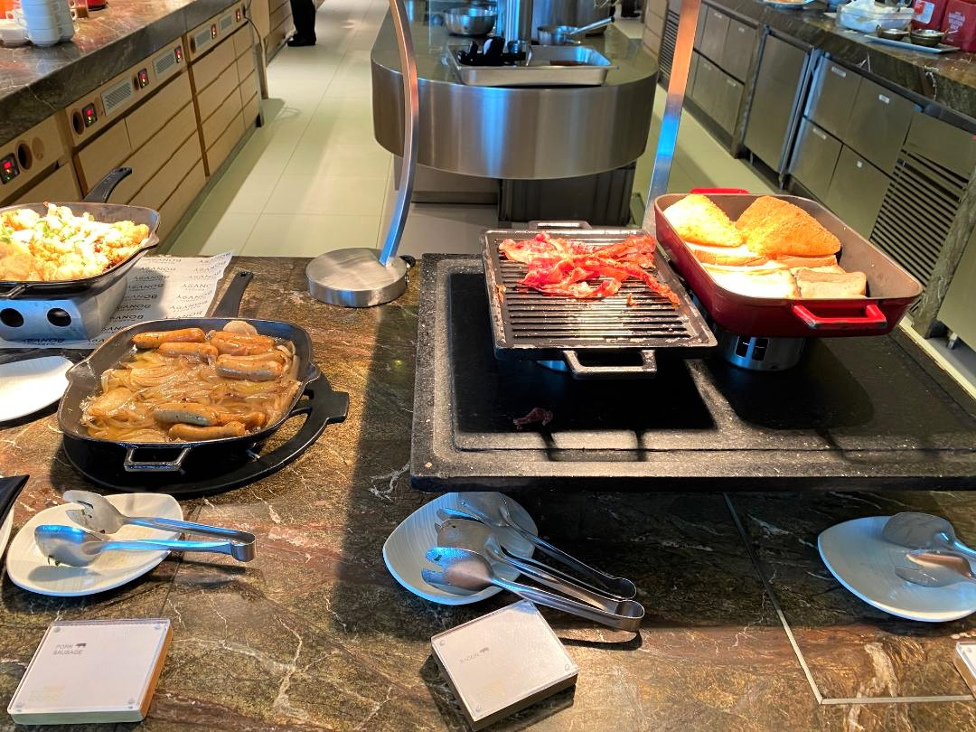 Hot Breakfast Items, The Westin Singapore