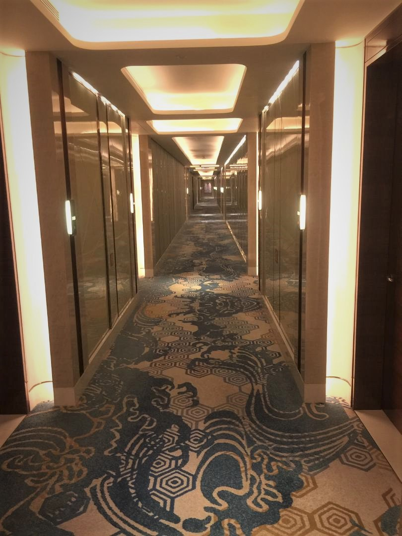 JW Marriott Macau, Executive Floor Corridor