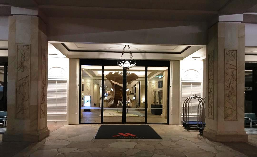 Surfers Paradise Marriott, Front Door