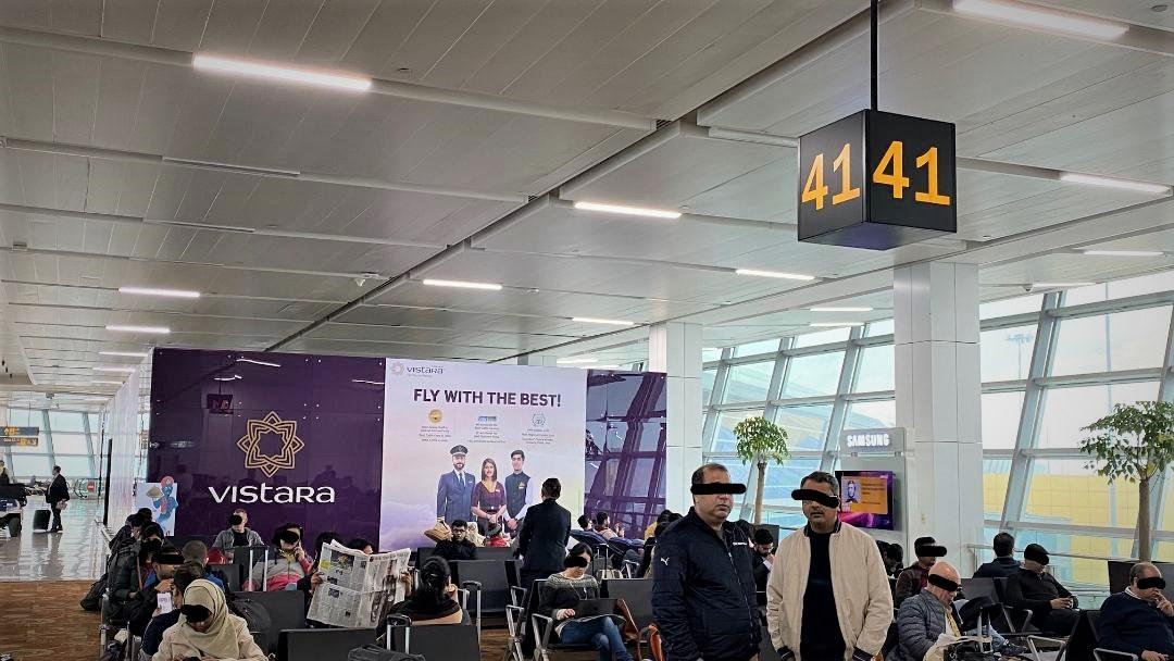 Air Vistara Lounge is near Gate 41