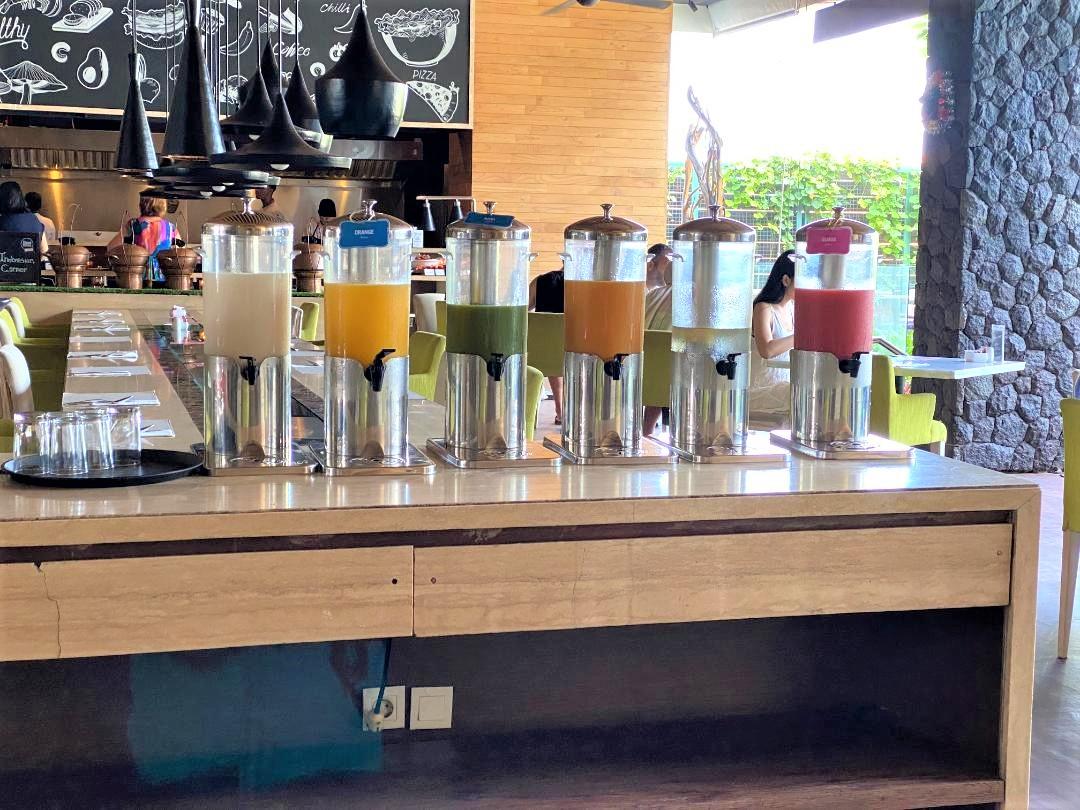 Breakfast Juice, Four Points Bali, Seminyak