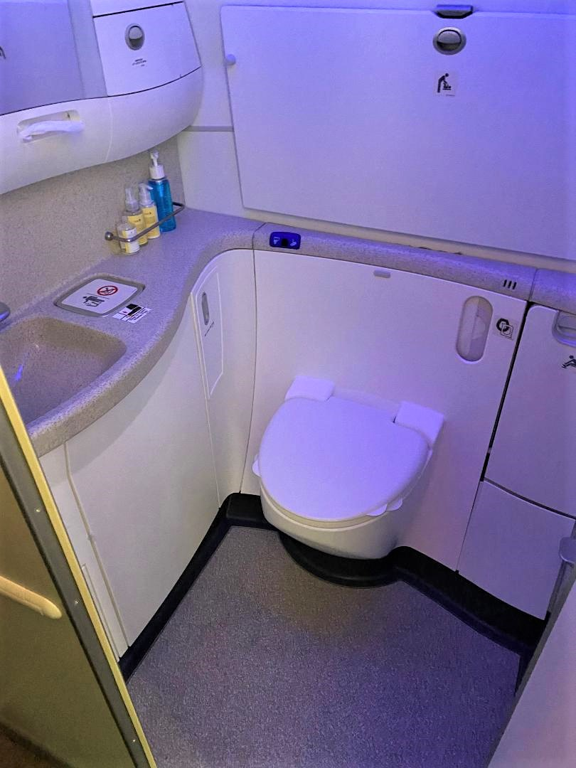 Business Class Lavatory, Singapore Airlines B787-10