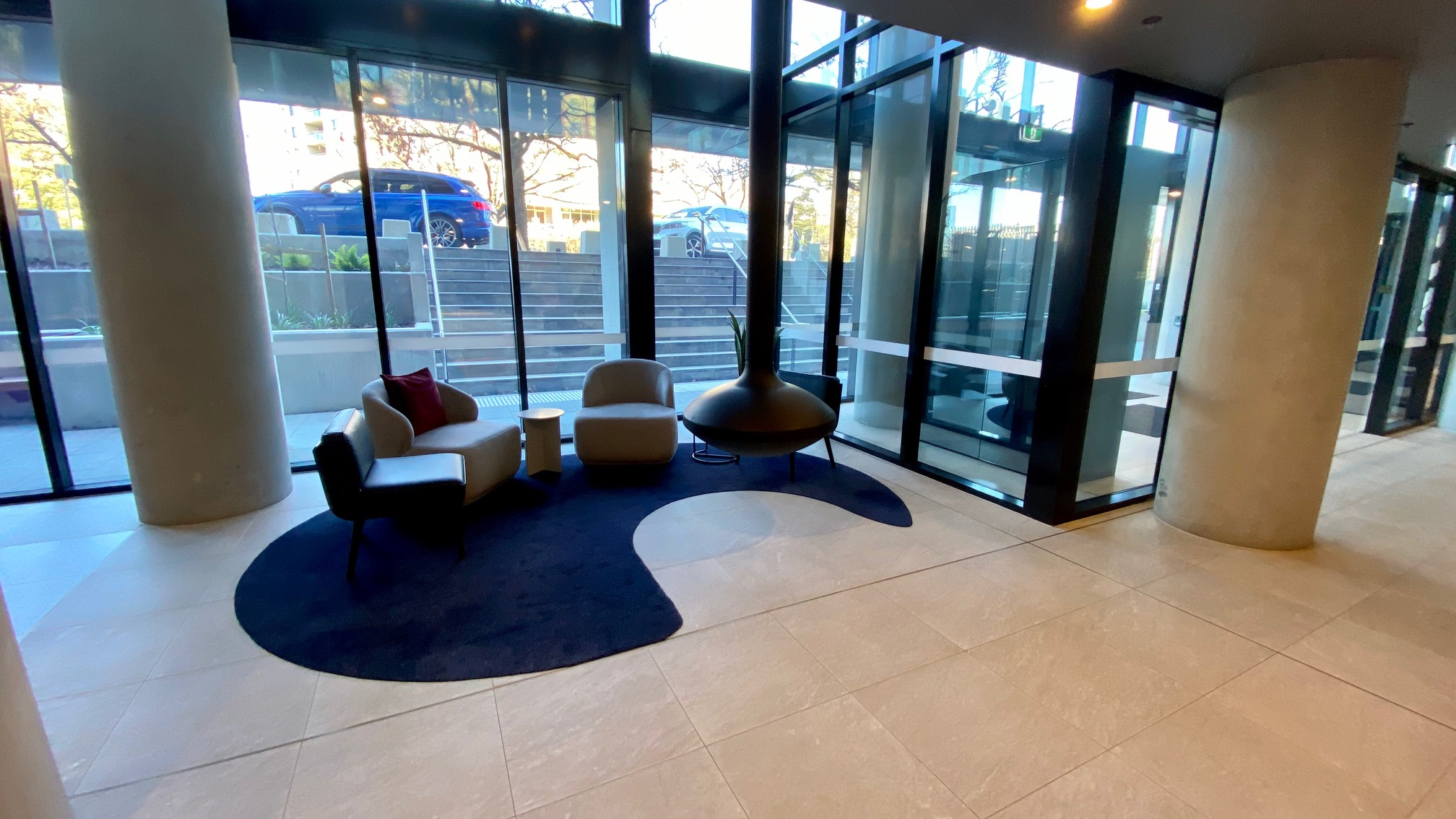 Lobby Seating, Midnight Hotel Canberra