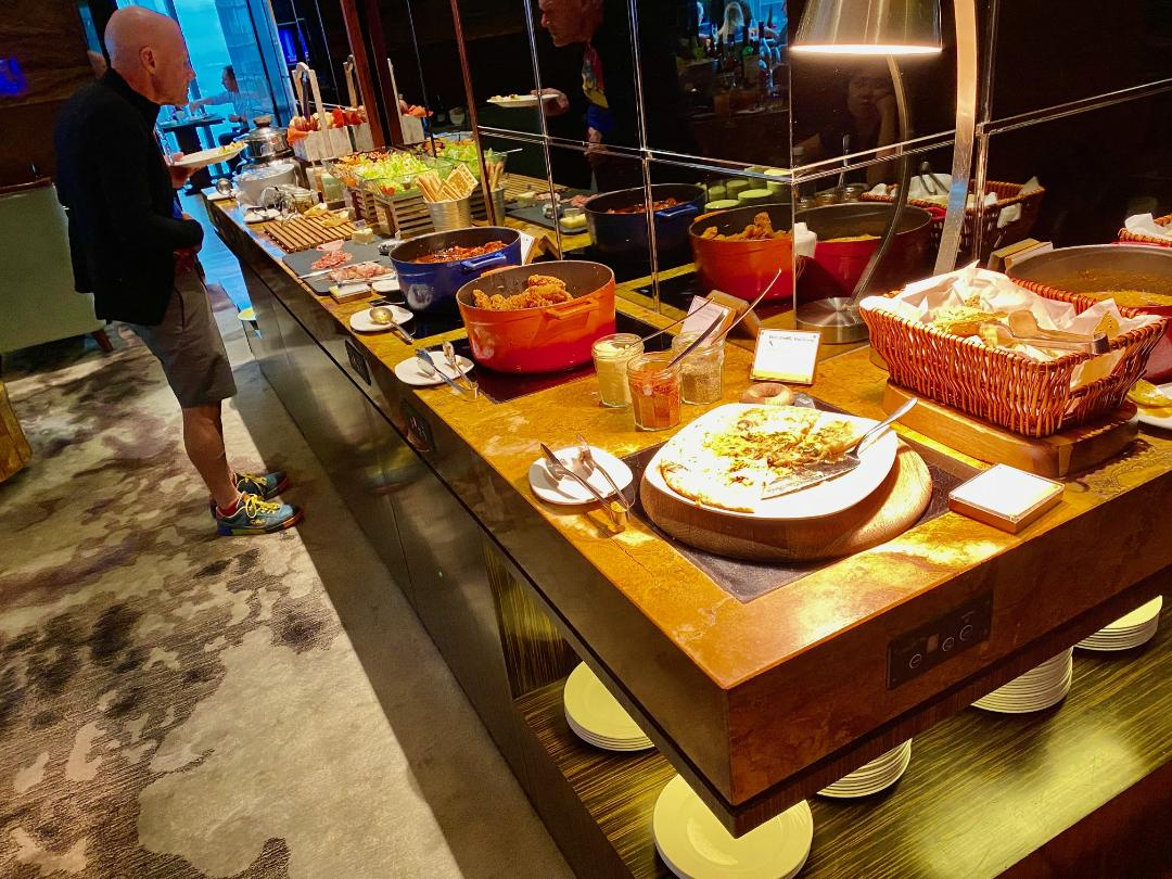 Executive Lounge Buffet, The Westin Singapore