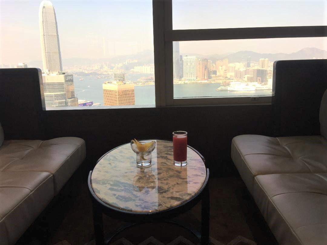 Executive Lounge, Conrad Hong Kong