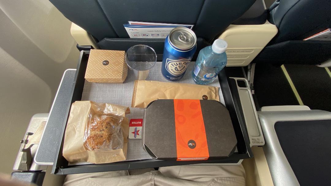 Rex Business Class Meal