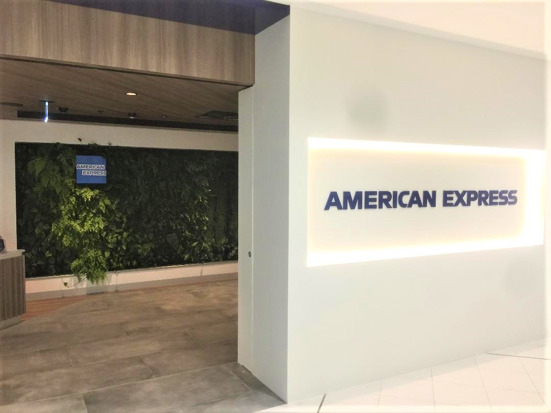 American Express Lounge at Sydney Airport