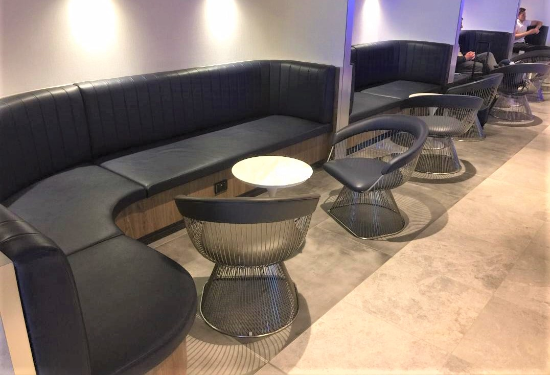 Bench Style Seating, American Express Lounge, Sydney T1