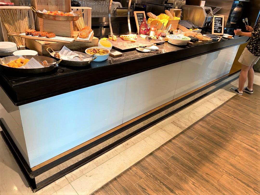 Bread & Pastry Stand, The Westin Singapore