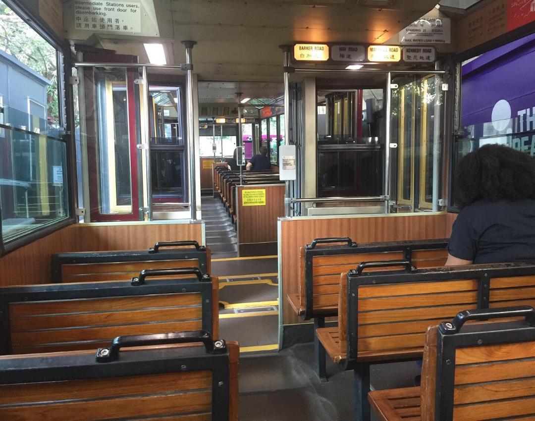 Peak Tram Hong Kong