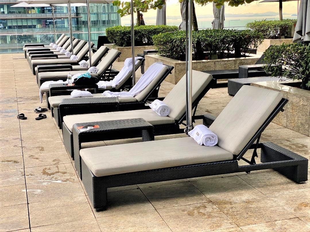 Sunbeds, The Westin Singapore