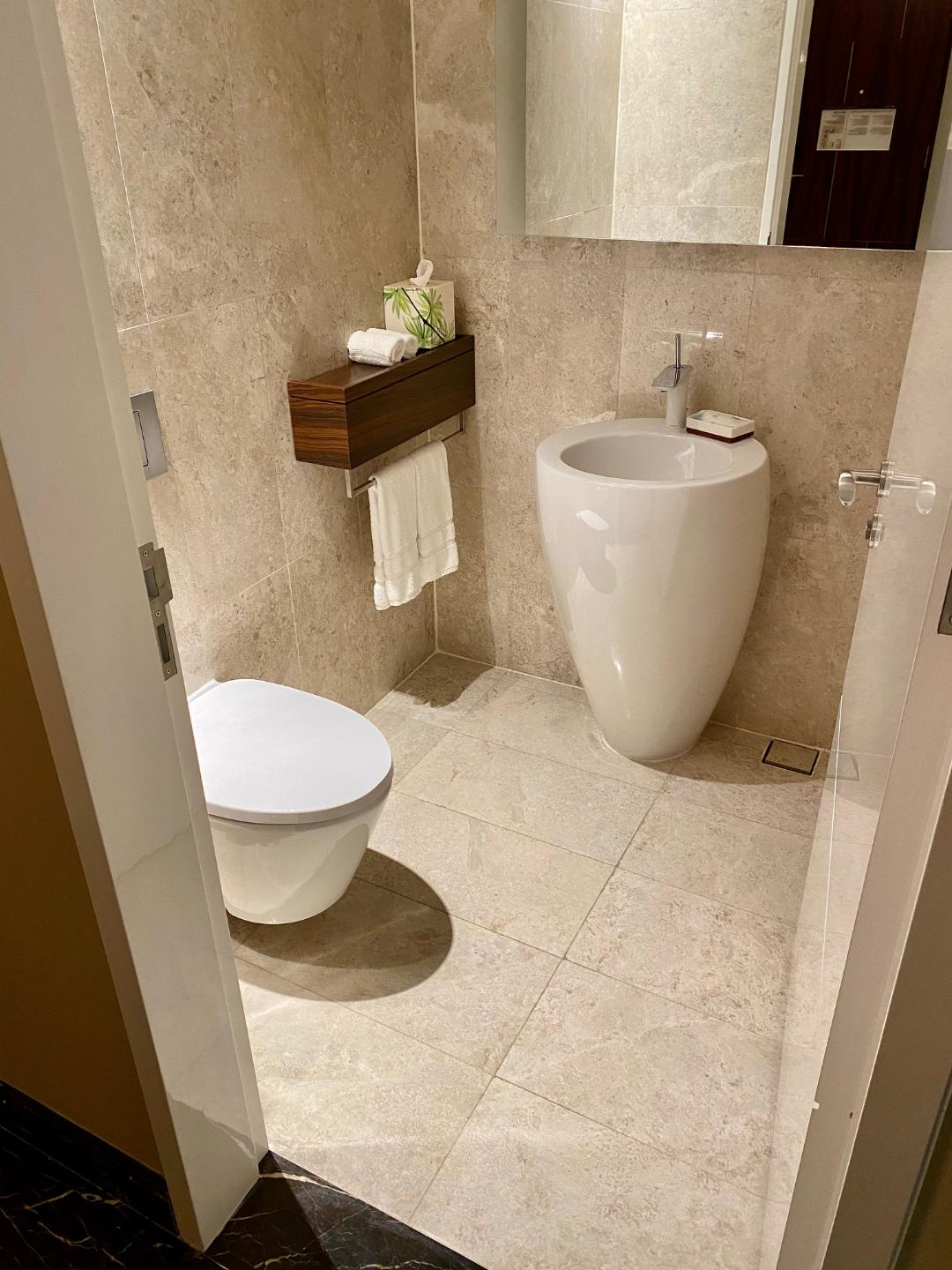 Powder Room, Executive Suite, The Westin Singapore