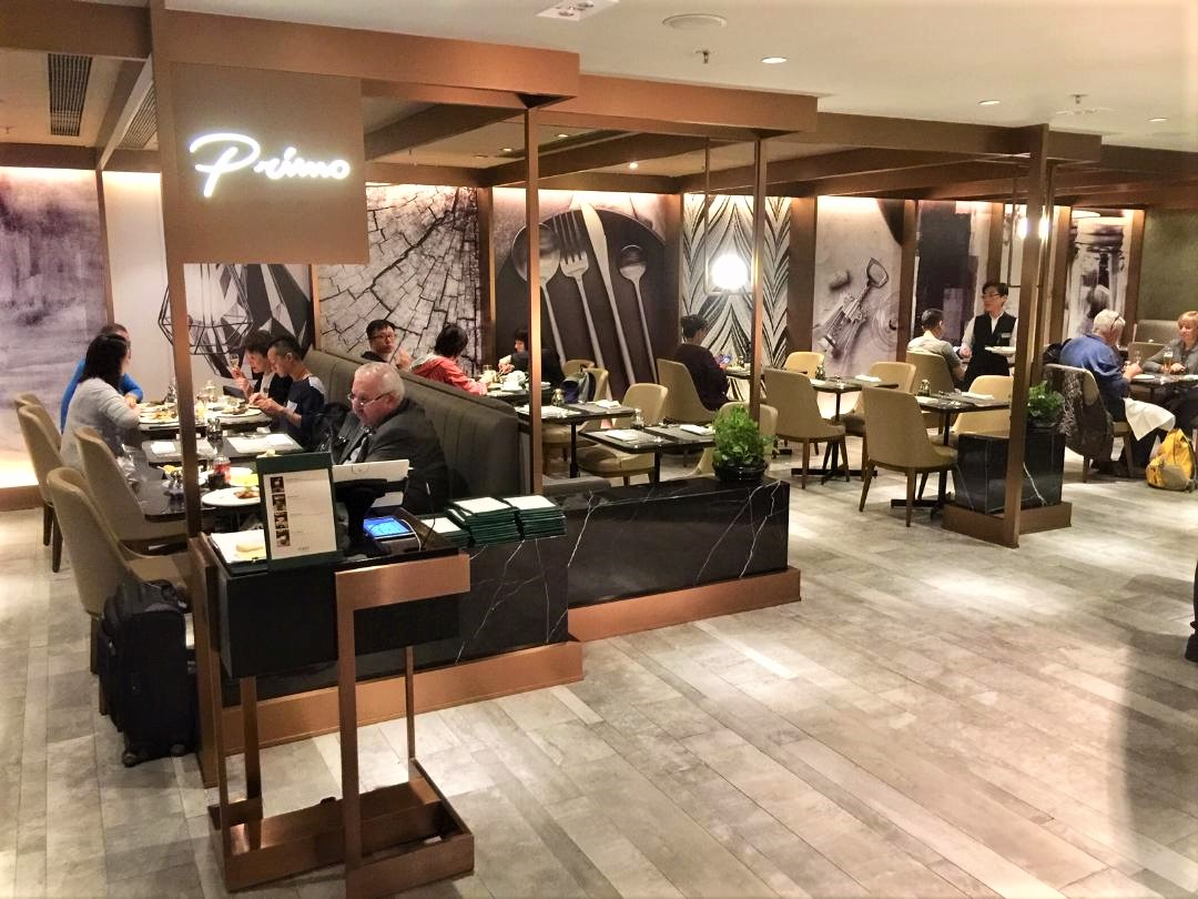Plaza Premium First Lounge, Dining Area