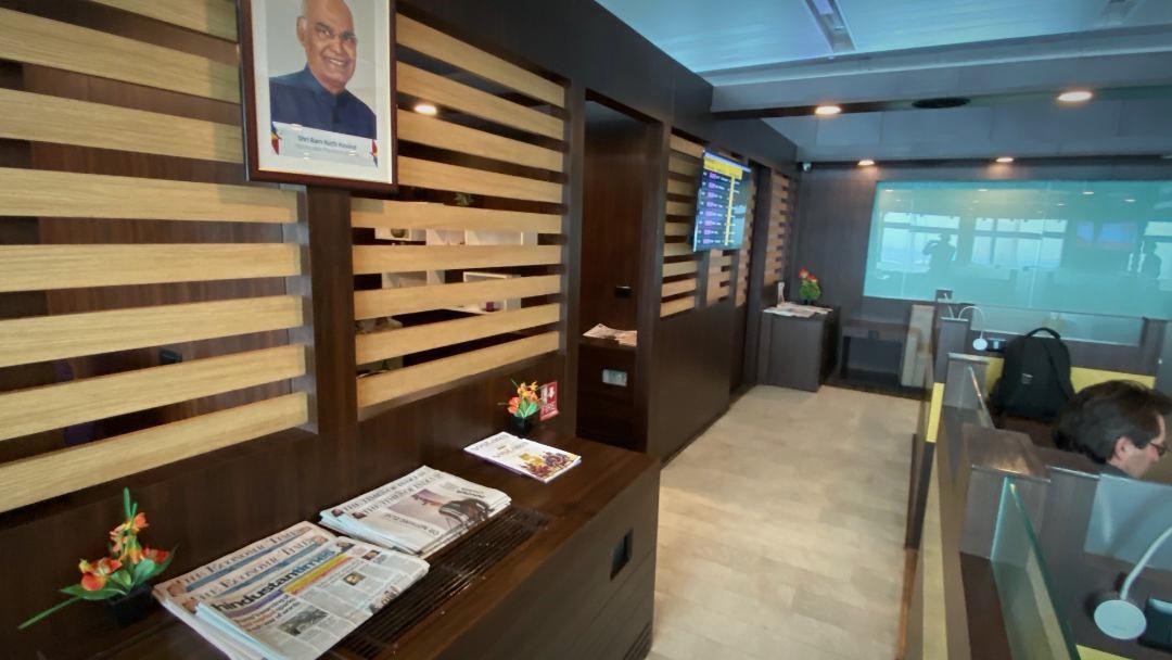 Semi Private Rooms, Air Vistara Lounge Delhi Airport