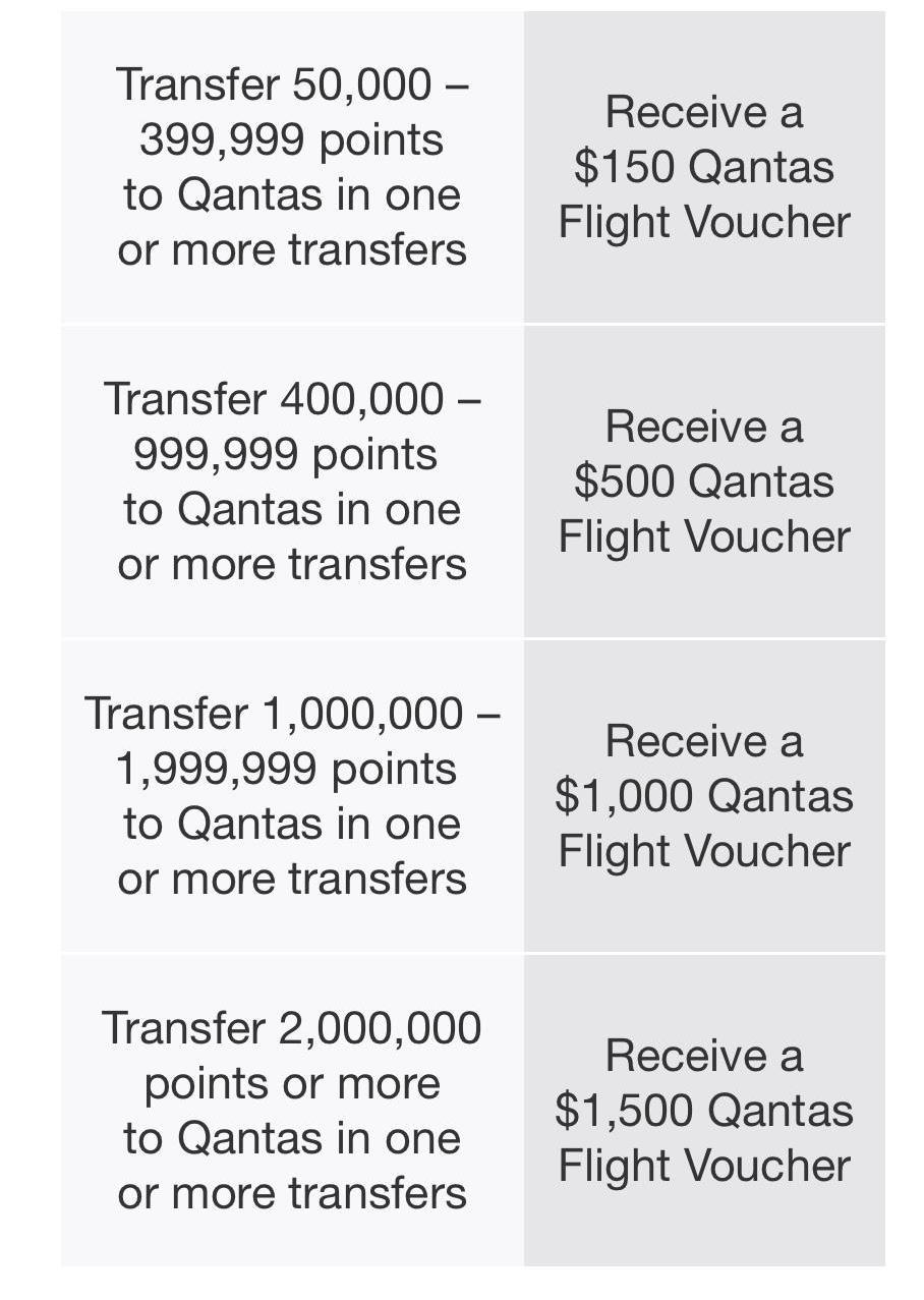 Qantas bonus offering
