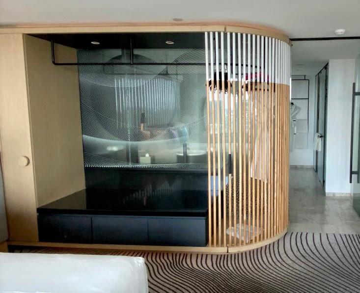 Storage/Suitcase rack, Fantastic Suite - W Brisbane