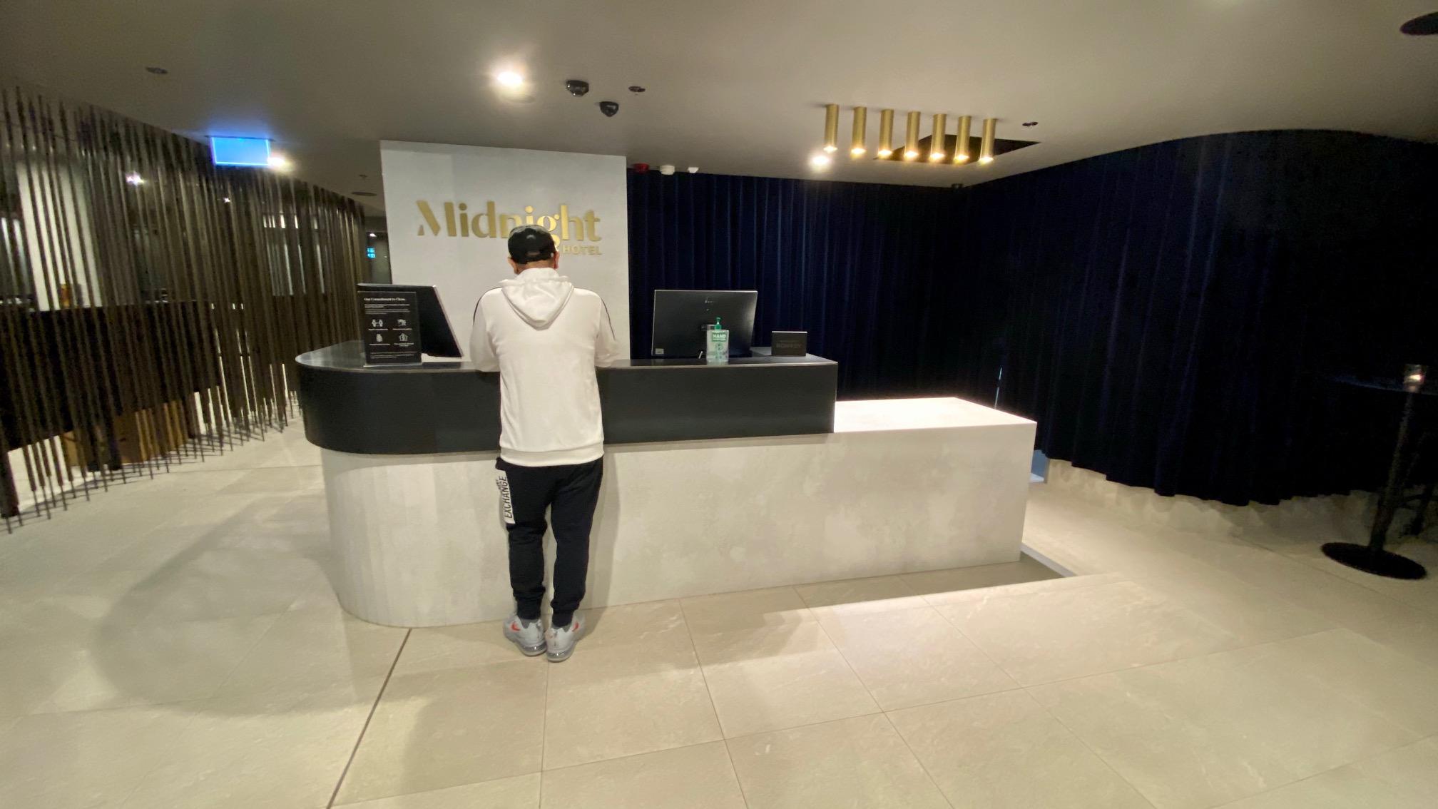 Reception, Midnight Hotel Canberra