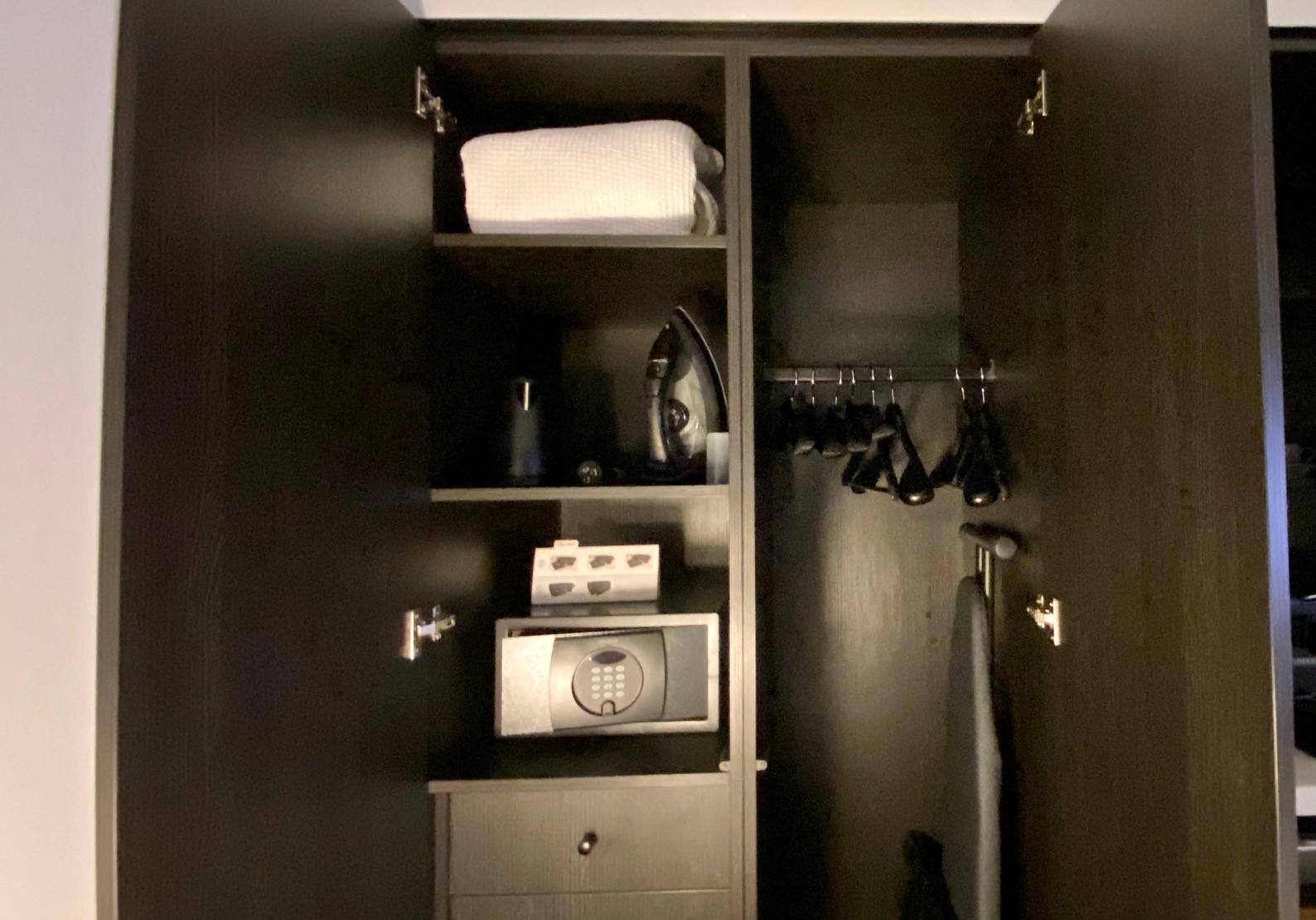 Wardrobe, Midnight Hotel Canberra