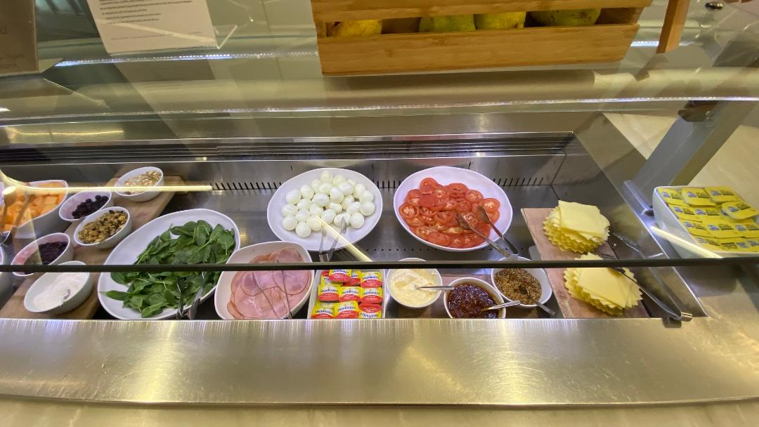 Salad Bar, Virgin Australia Lounge - Perth Airport