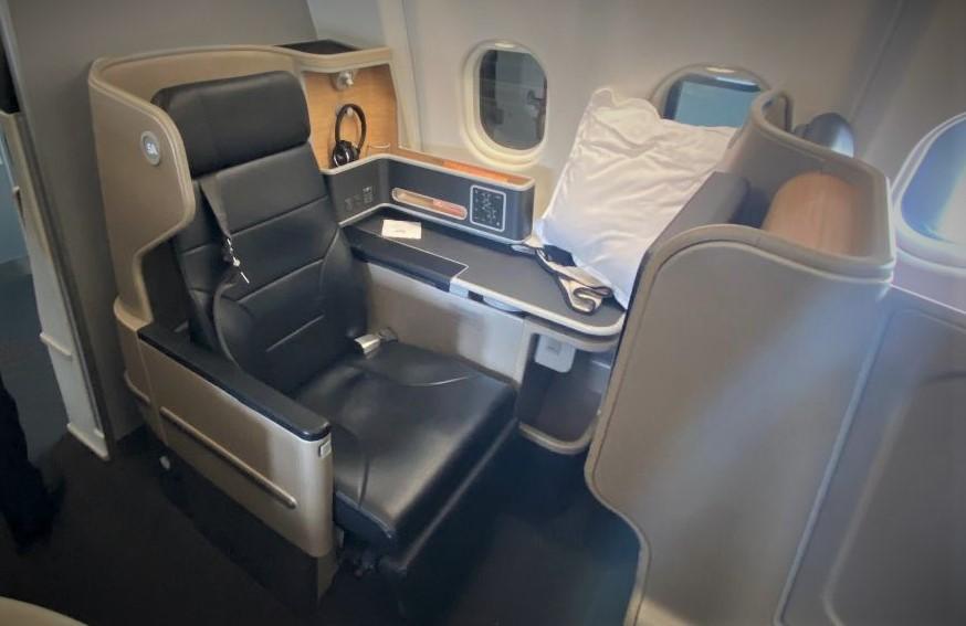 Qantas A-330 Business Class