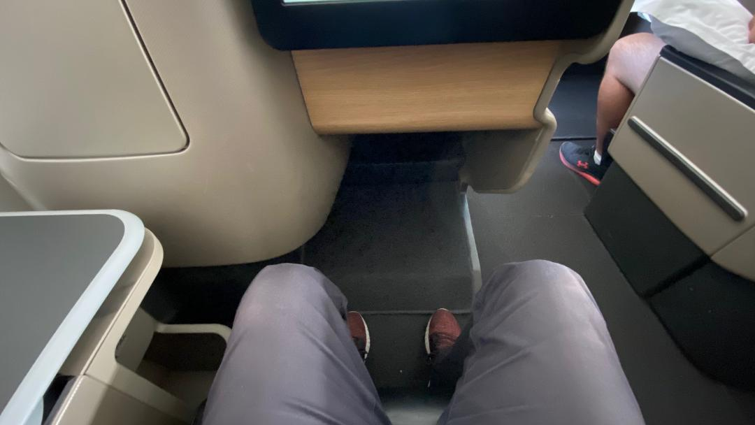 Qantas A-330 Business Class Seat