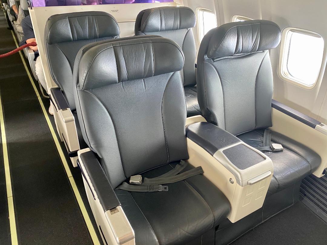 Rex B-737 Business Class Seats